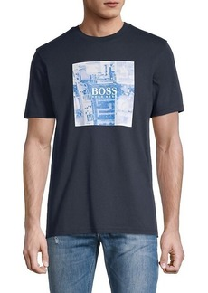 Hugo Boss Cotton Graphic T-Shirt