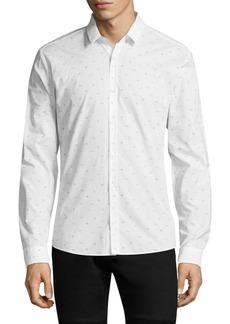 Hugo Boss Cotton Slim-Fit Button-Down Shirt