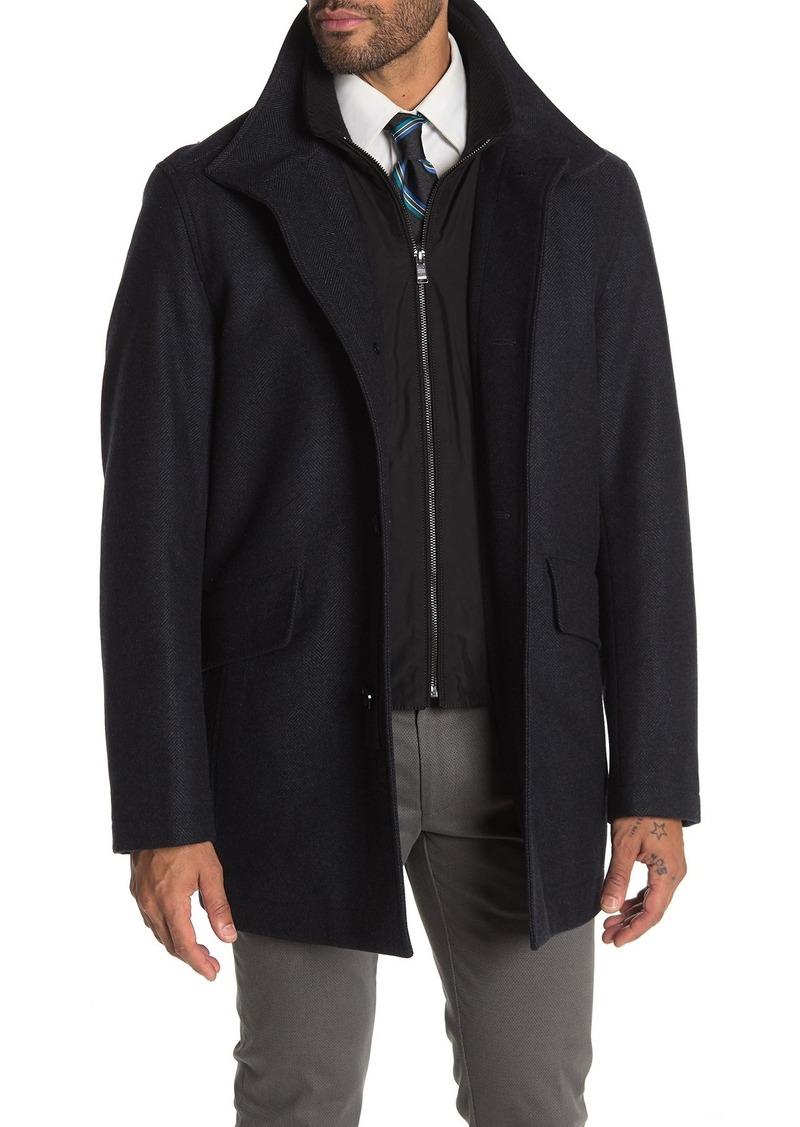 Hugo Boss Cox Wool Blend Coat