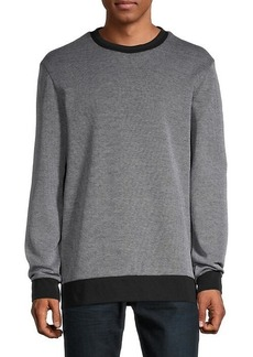 Hugo Boss Crewneck Cotton-Blend Sweatshirt