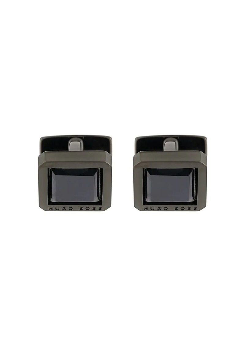 Hugo Boss crystal cufflinks