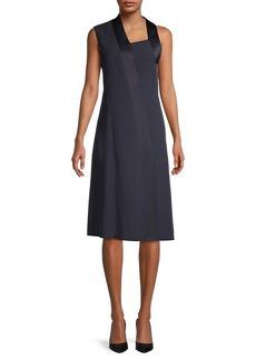 Hugo Boss Danelava Asymmetric A-Line Dress