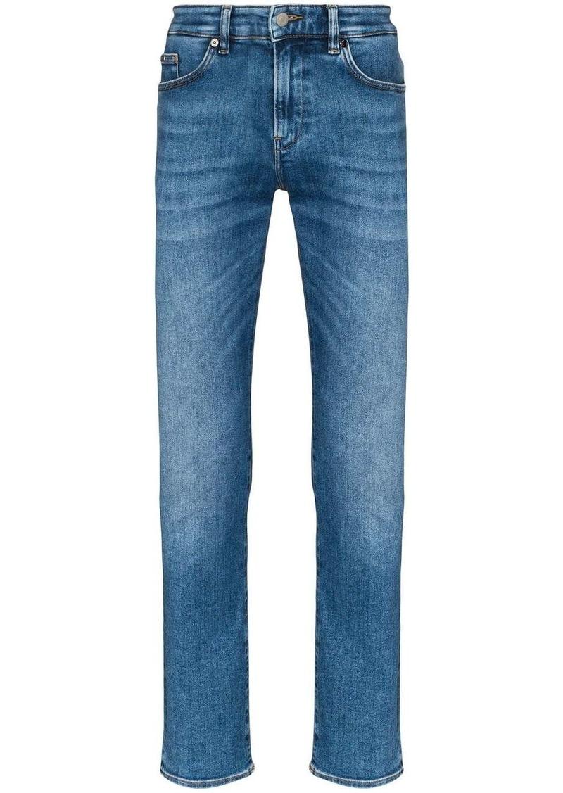 Hugo Boss Delaware straight leg jeans