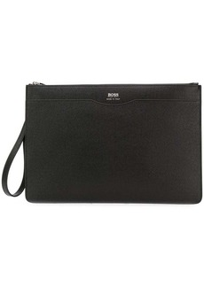 Hugo Boss document clutch