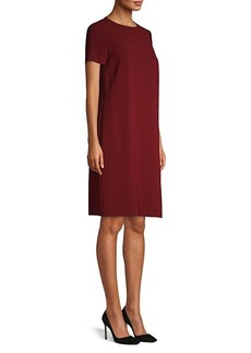 Hugo Boss Dularis Crepe Colorblock Dress