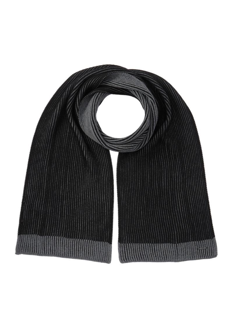 Hugo Boss Ebalios Italian Wool Scarf