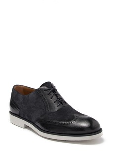 Hugo Boss Eden Suede Leather Wingtip Oxford