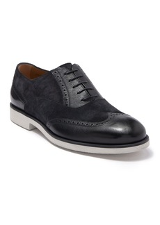 Hugo Boss Eden Suede Leather Wingtip Oxford