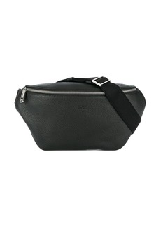 Hugo Boss embossed logo belt bag