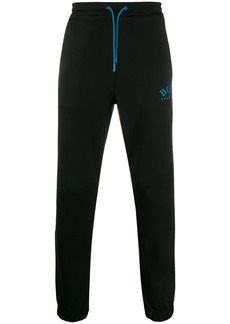 Hugo Boss embroidered logo track trousers