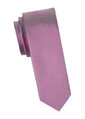 Hugo Boss Embroidered Silk Slim Tie