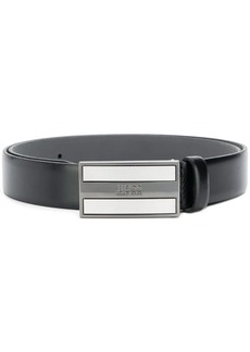 Hugo Boss enamel buckle belt