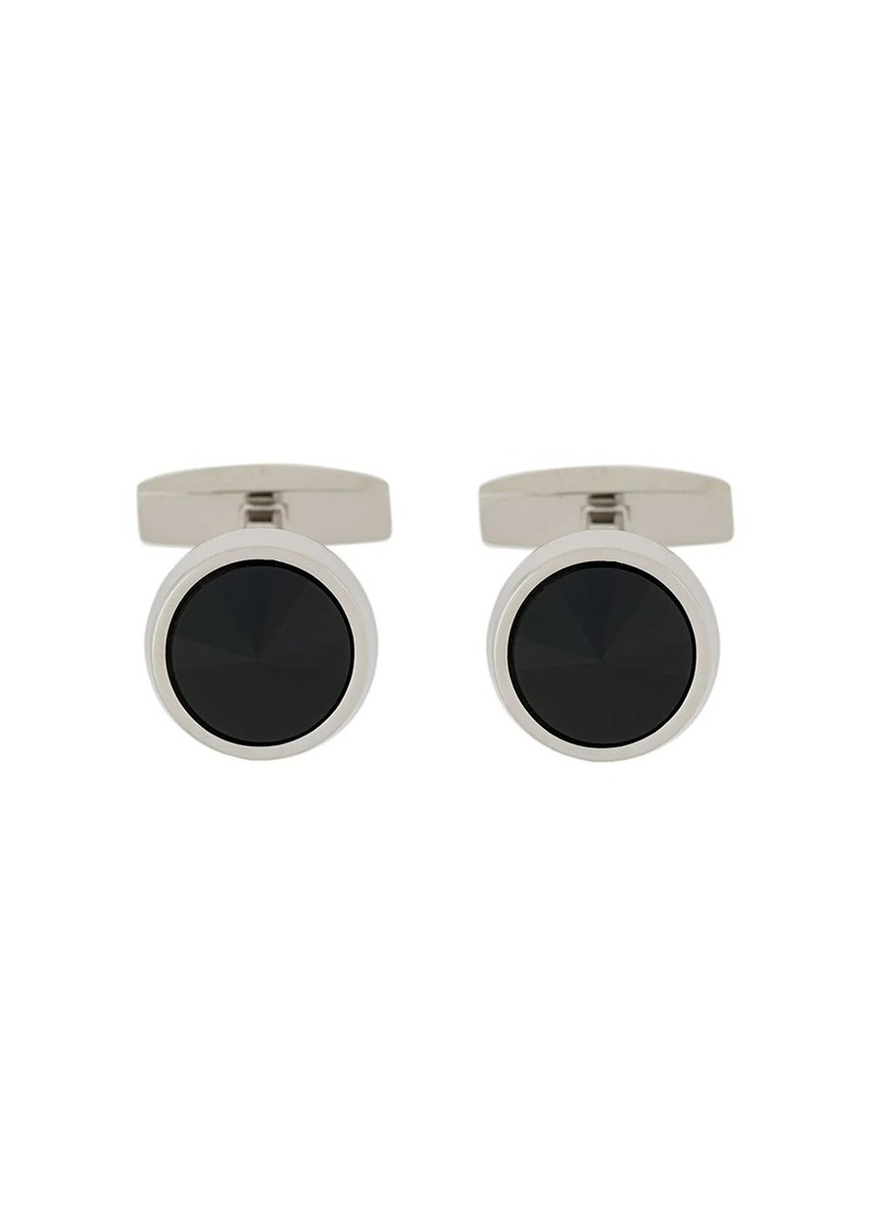 Hugo Boss enamel cufflinks