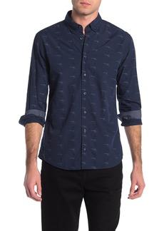 Hugo Boss Epreppy Print Slim Fit Shirt
