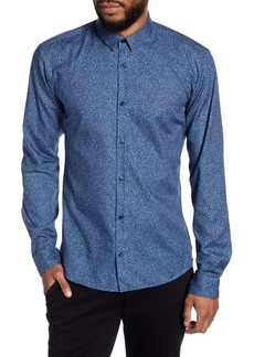 Hugo Boss Ero Slim Fit Button-Up Shirt
