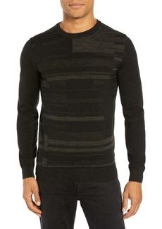 Hugo Boss Evalerio Wool Pattern Sweater