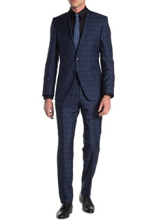 Hugo Boss Fabric Printed 2-Piece Suit Set