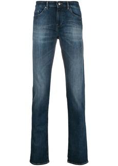 Hugo Boss faded slim-fit jeans