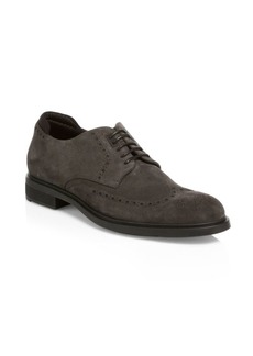 Hugo Boss First Class Suede Derby Shoes