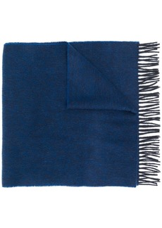 Hugo Boss fringe edge scarf