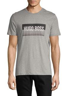 Hugo Boss Front Graphic Cotton Tee