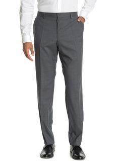 Hugo Boss Genesis Medium Grey Check Slim Fit Suit Separates Trousers