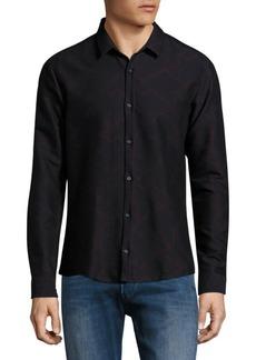 Hugo Boss Geometric Print Slim-Fit Shirt