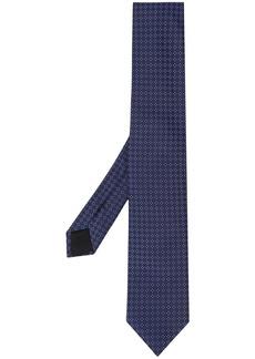 Hugo Boss geometric print tie