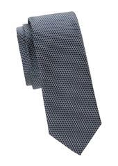 Hugo Boss Geometric Silk Slim Tie