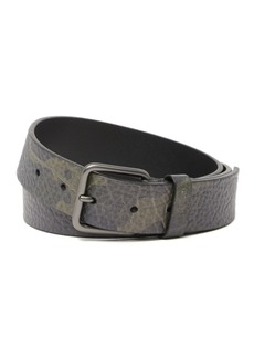 Hugo Boss Gisby Embossed Leather Belt