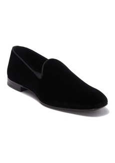 Hugo Boss Glam Slon Velvet Slip-On Loafer