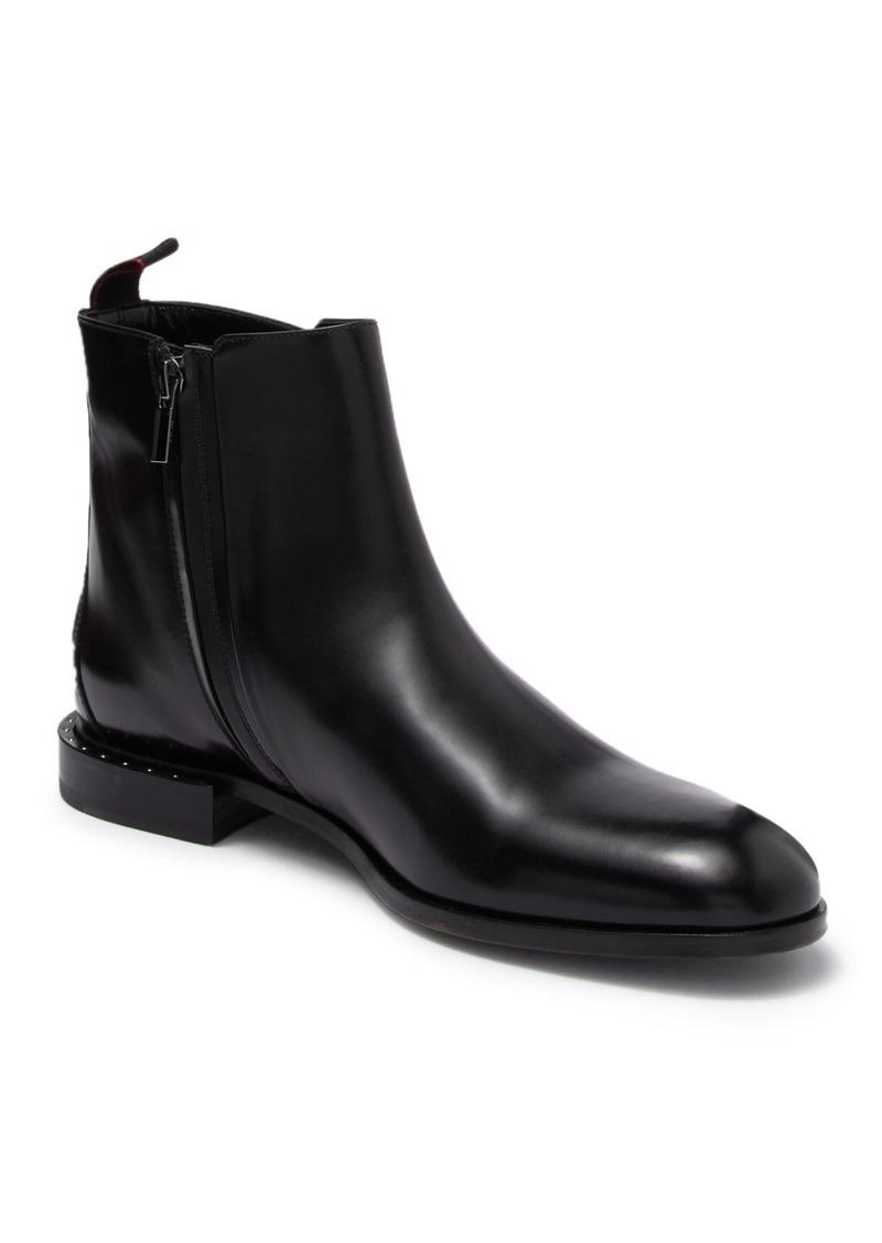 Hugo Boss Grafity Side Zip Leather Boot