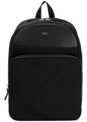 Hugo Boss grained backpack