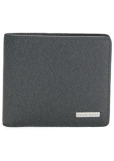 Hugo Boss grained bifold wallet