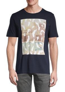 Hugo Boss Graphic Cotton T-Shirt