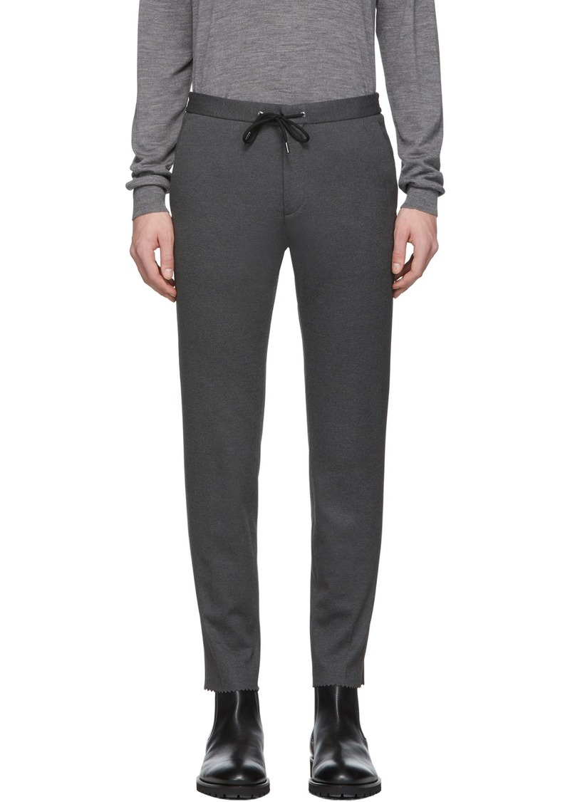 Hugo Boss Grey Banks Trousers