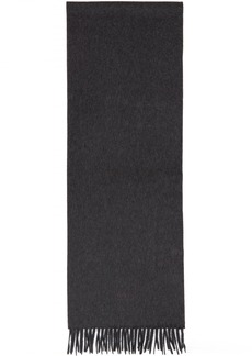 Hugo Boss Grey Cashmere T-Scottas 02 Scarf