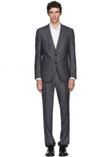 Hugo Boss Grey Genius Slim Suit