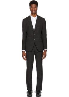 Hugo Boss Grey Helford Gander 3 Suit