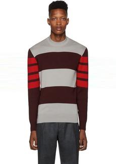 Hugo Boss Grey Knit Bettino Sweater