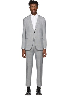 Hugo Boss Grey Nolin Pirko Suit