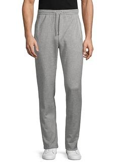 Hugo Boss Heathered Cotton-Blend Sweatpants