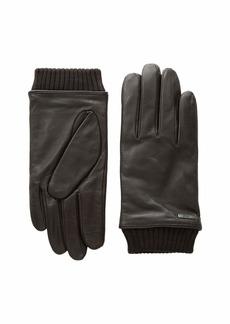 Hugo Boss Hewen Touch Tech Leather Gloves