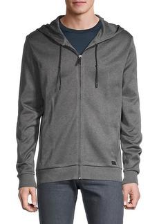 Hugo Boss Hooded Cotton Jacket