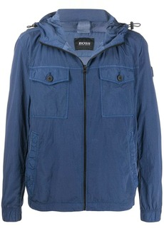 Hugo Boss hooded light jacket