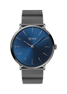 Hugo Boss Horizon Ionic-Plated Stainless Steel Bracelet Watch