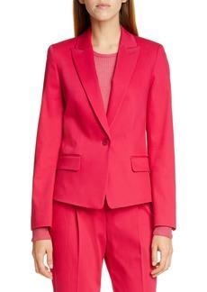 Hugo Boss HUGO Aklesi Stretch Cotton Suit Jacket