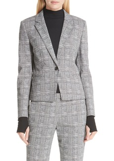 Hugo Boss HUGO Asima Bold Check Suit Jacket