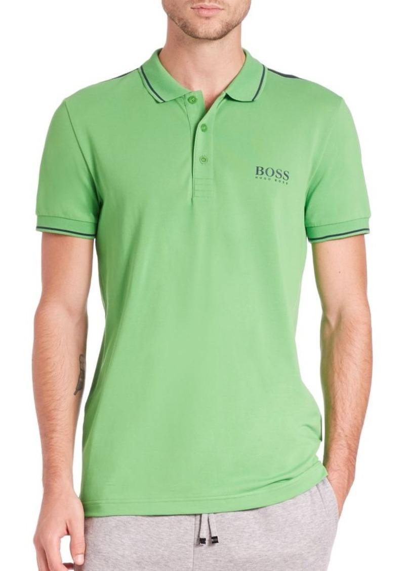 HUGO BOSS BOSS Green Slim-Fit Polo
