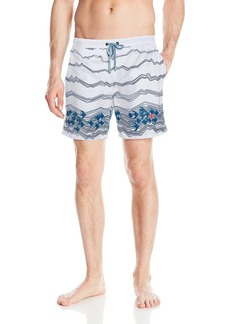 Hugo Boss BOSS Men's Anemonefish Swim Trunk